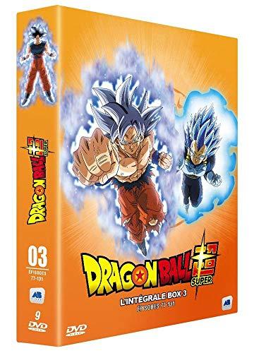 Coffret dragon ball super, saison 3, épisodes 77 à 131
