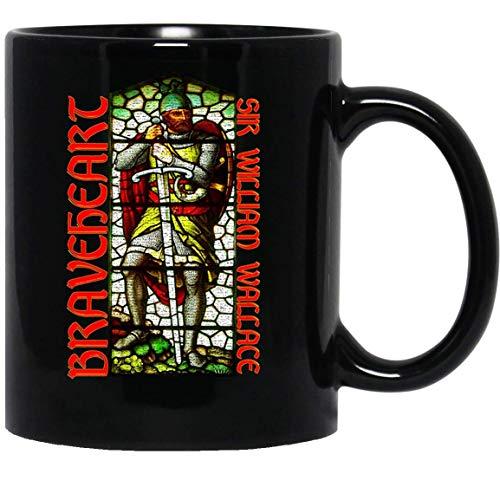 N\A Braveheart - William Wallace Historia Escocia Espada Stirling Legend Taza Taza Tazas de café Tazas Té ()