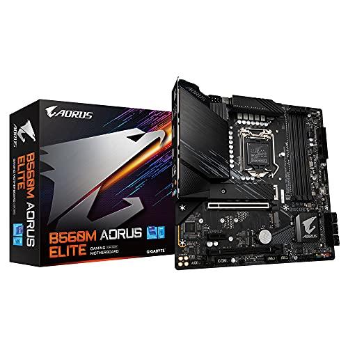 Gigabyte B560M AORUS ELITE Micro ATX scheda madre per CPU Intel LGA 1200