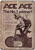 レーシング自転車壁ブリキサインメタルポスターレトロプラーク警告サインヴィンテージ鉄絵の装飾オフィスベッドルームリビングルームクラブのための面白いハンギングクラフト