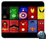 Superhero's United Superman SPiderman Batman Mouse Pad