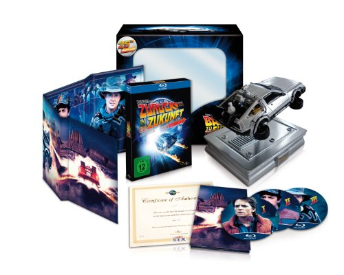 Zurück in die Zukunft - 25th Anniversary Trilogie (limitiert, inkl. Miniatur DeLorean) [Blu-ray] [Collector's Edition]