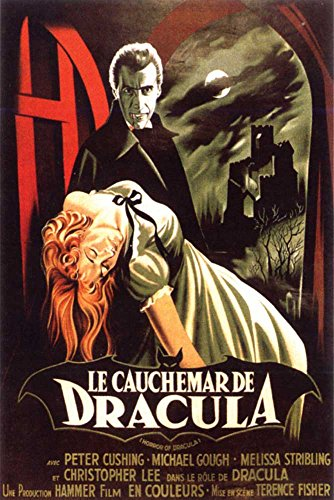 Empire Merchandising 668059 Le Cauchemar de Dracula Christopher Lee Film Movie Legends Poster Print Size 61 x 91.5 cm