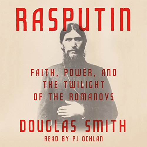 Rasputin audiobook cover art