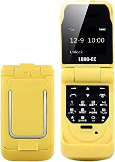 SHIHUI Mobile Phone JHY LONG-CZ J9 Mini Flip Style Mobile Phone, 0.66 inch, 18 Keys, Support Bluetooth, FM, SOS, Anti-los...