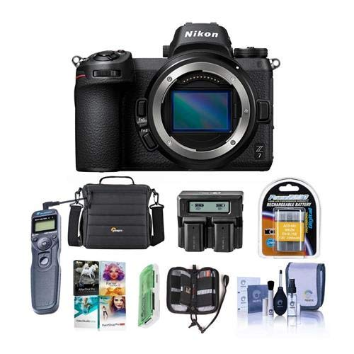 Check Out This Nikon Z7 FX-Format Mirrorless Camera Body - Bundle with Camera Case, Spare Battery, D...