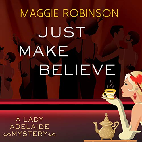 Just Make Believe Audiobook By Maggie Robinson cover art