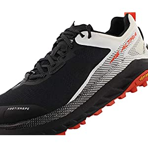 ALTRA Men's AL0A4VQM Olympus 4 Trail Running Shoe, Black/White - 12 M US