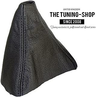 The Tuning-Shop Ltd for BMW 3 Series E90 E91 E92 E93 2005-13 Shift Boot Black Genuine Leather