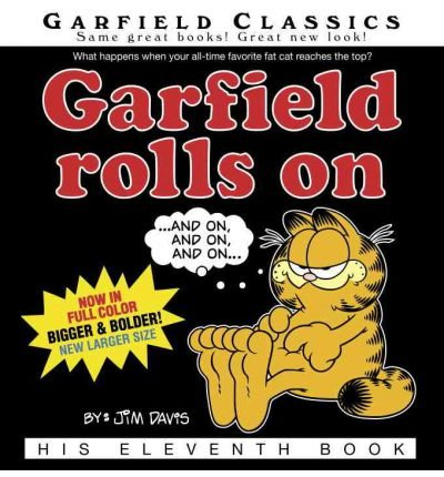 [ GARFIELD ROLLS ON BY DAVIS, JIM](AUTHOR)PAPERBACK
