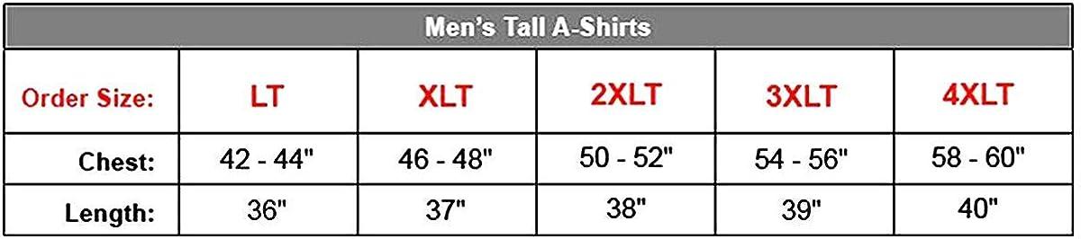 Hanes Men`s Tall Tagless ComfortSoft Tank Undershirt