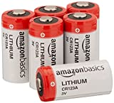 AmazonBasics Lithium CR123a 3 Volt Battery - Pack of 6 (Packaging may...
