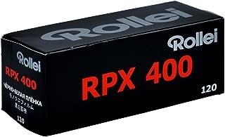 Rollei RPX 400 ISO Black & White Film, 120 Size