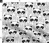 Panda, Schwarz Und Weiß, Andrea Lauren, Kinderzimmer,
