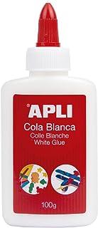APLI 12849 - Cola, 100 g, color blanco