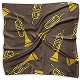 Tromba Modello Donna Fazzoletto Sciarpe Moda Scialle Elegante Accessori Borsa 23.6 Pollici