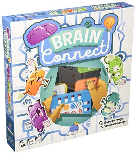 Blue Orange Brain Connect 15 pieza(s) - Rompecabezas (Rompecabezas con pistas dibujadas, Niños, Niños, 8 año(s), 20 min, 15 pieza(s)) , color/modelo surtido