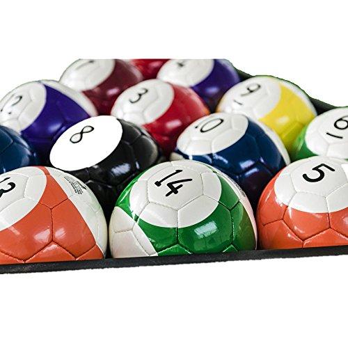 16-teiliges Snookerball-Set, sehr groß, Snooker, Ball, Straßenfußball, Fußballspiel, Riesiges Billardspiel, Pool-Billard, Fußball, Sport, Spiel,