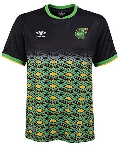 Umbro 2018-2019 Jamaica Away Football Soccer T-Shirt Trikot