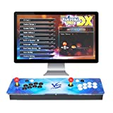 ARCADORA 3A 8-Button Pandora Box DX Home Arcade Console 3000 in 1, Support up to 4 Players, Support to add Games, Save Games Progress, Accurate Game Searching, 720P HD Classic Video Machine