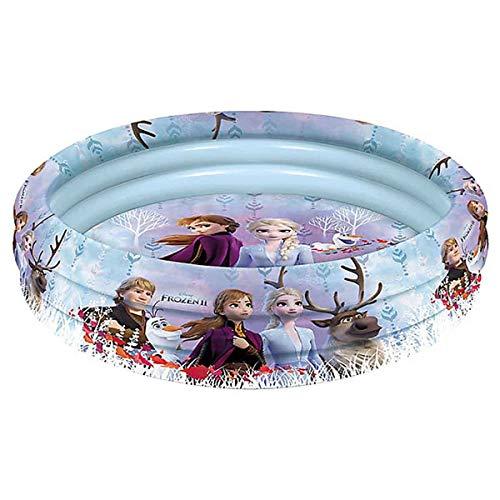 Lively Moments Kleiner Aufblasbarer Pool / Aufblaspool / Babypool / Planschbecken Disneys Frozen 2 die Eiskönigin 2 mit Anna, ELSA Sven, Kristoff und Olaf