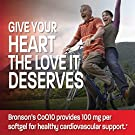 Premium CoQ10 100mg (CoEnzyme Q-10) - Non GMO - Antioxidant Support - Heart Health, Cellular Energy, Cardiovascular System Health Support - 150 Softgels #3