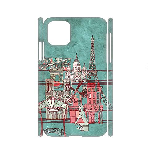 no-branded Specificity Children Have Eiffer Tower Stamp 1 Cases Plastics Use On 5.8 Inch iPhone 11 Pro Choose Design 148-5