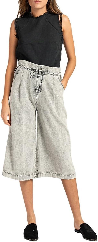 One Teaspoon  Women's Menzy Trousers  Grey Spirit
