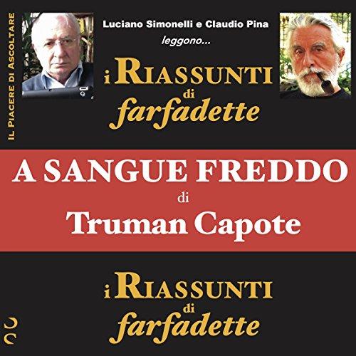 A sangue freddo di Truman Capote audiobook cover art