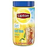 Lipton Black Iced Tea Mix Diet Lemon 15 quarts - Pack of 2