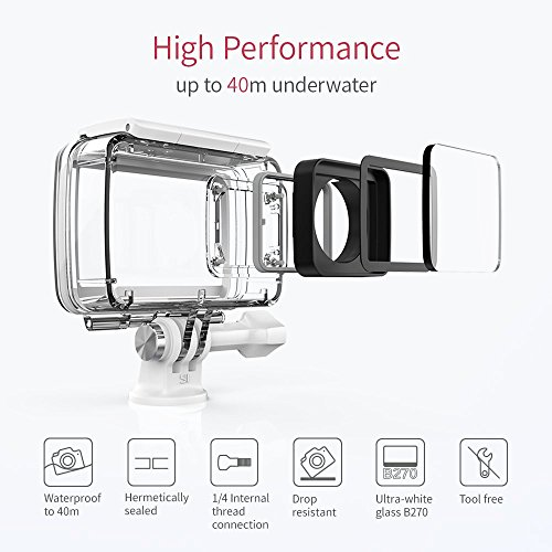 YI 4K Plus Action Kamera Schwarz 4K/60fps 12MP Wasserfest - 5