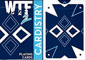World Card Experts WTF 2 Cardistry Playing Cards Poker Size Deck USPCC Custom Limited Edition