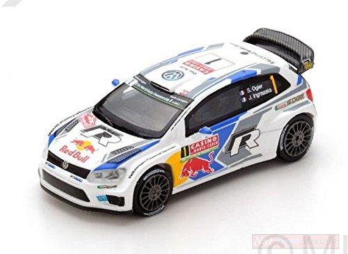 Spark Model S87138 VW Polo R WRC N.1 Monte Carlo 2014 S.OGIER-J.INGRASSIA 1:87 Compatible con