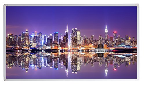 19 Bildheizung im Shop Infrarot Heizung 600 Watt New York Skyline Fern Infrarotheizung - 5 Jahre Herstellergarantie- Elektroheizung mit Überhitzungsschutz - Infrarotheizung Heizt bis 18m² Raum - - inkl. Thermostat