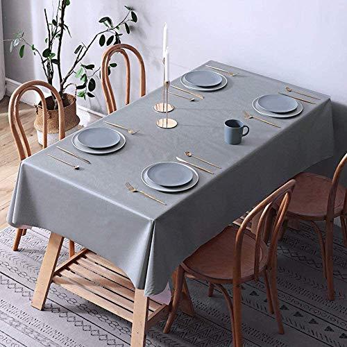 WSJIABIN Mantel A Prueba De Polvo De Mesa Cubierta para Cocina Restaurante Fiesta Lavable con Agua Φcm90x90cm
