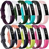 HUMENN Bracelet pour Fitbit Alta/Fitbit Alta HR/Fitbit Alta Ace, Bande de Remplacment TPU Réglable...