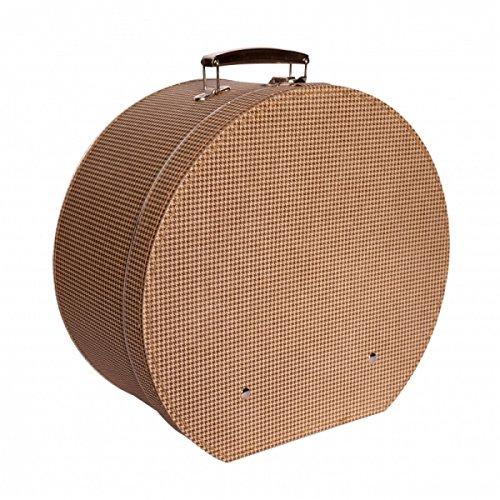 Sombrerera cartón marrón