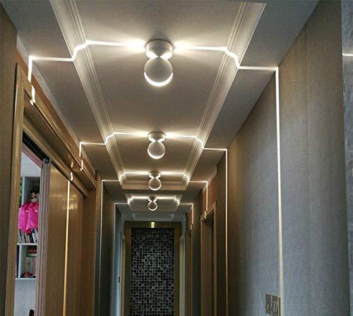 LED Fensterbank Licht Bunte Fernbedienung Korridor Licht 360 Grad Ray Türrahmen Linie Wandleuchten für Hotel Gang Bar Familie-Warm