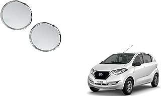 Autoladders Chrome Blind Spot Mirror Set of 2 for Datsun Redi Go