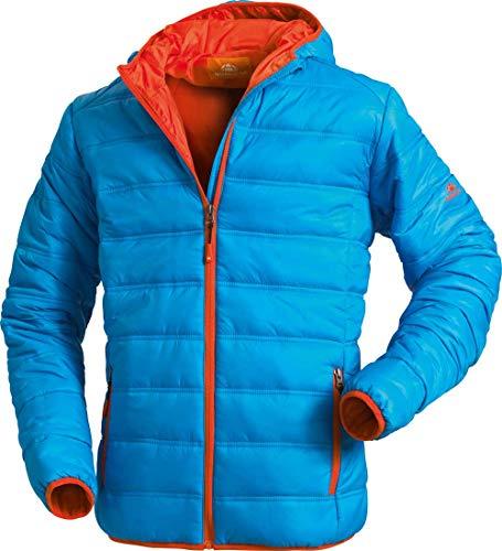 Nordcap Herren Stepp-Jacke in Daunenoptik, Outdoorjacke in blau, tolle Übergangs- & Winterjacke, 100% Wattierung (Gr: M - 3XL)