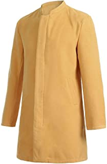 BINGLEY Homme Manteau de Laine Casual Trench Coat Classique Chic Mi-Longue Duffle-Coats /Épais Parka