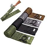 Flyfan Gun Sock Treated Knit Gun Socks for Rifles,Extra-Wide Rifle Sock,52'-2/4Pack Fits Rifle/Shotguns with Scopes