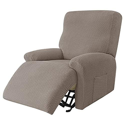 Fodera per poltrona reclinabile stile diviso Fodere per sedia per ragazzo pigro per massaggi all-inclusive Spandex Fodera per divano letto singolo Fod
