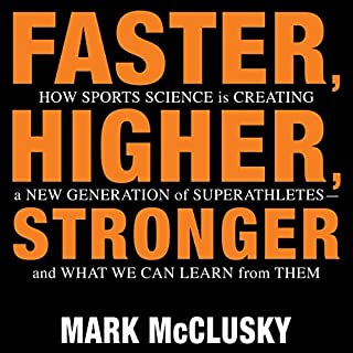 Faster, Higher, Stronger cover art