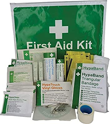 Safety First Aid Car Kit - HSE Compliant (Zip-Lock) from Safety First Aid Group