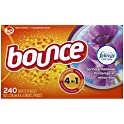 240-Ct Bounce Febreze Scent Spring & Renewal Fabric Softener Dryer Sheets