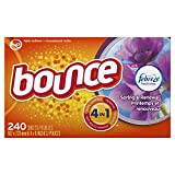 Bounce with Febreze Scent Spring & Renewal Fabric Softener Dryer Sheets, 240 Count
