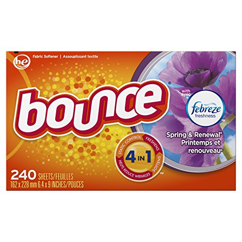 Bounce with Febreze Scent Spring & Renewal Fabric Softener