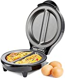 Andrew James Omelette Maker   Dual Electric Omelette Maker Perfect Every Time