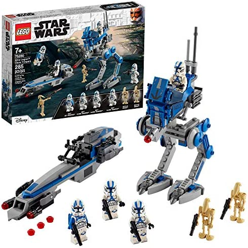 LEGO Star Wars 501st Legion Clone Troopers 75280 Building Kit Cool Action Set for Creative Play product image